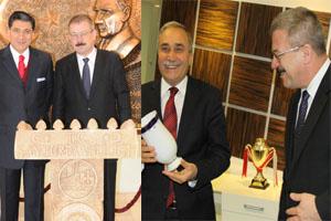 Büyükelçiden Fakıbaba ve Okutan'a Ziyaret