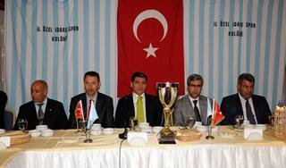 İl Özel İdarespor'un Şampiyonluk Gecesi