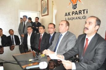 İzol aşireti aday adayları; Biz AK Partiliyiz