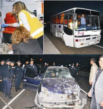 Hilvan'da kaza 3 yaralı