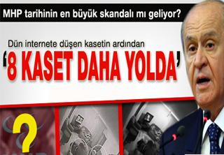 Bu Kasetler MHP'yi Baraj Altında Bırakır