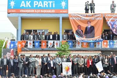 Devlet Bakanı Çelik, viranşehir'de