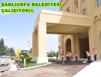 Şanlıurfa Belediyesi Çalışıyor(!)