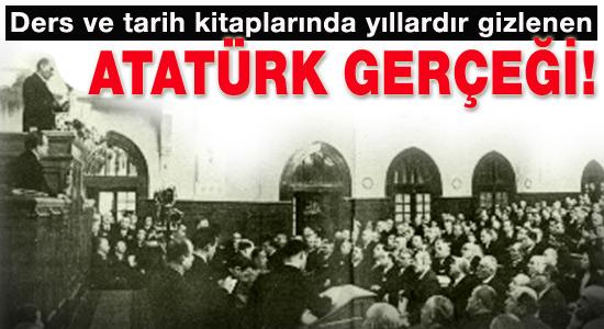 Ders kitaplarında saklanan Atatürk gerçeği!