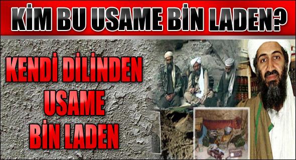 Kendi dilinden Usame Bin Laden
