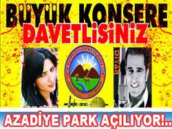 Azadiye Park Açılıyor