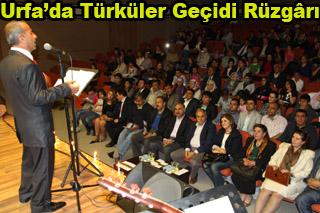 Urfa'da Türküler Geçidi Rüzgârı