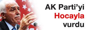 Prof. Kamalak, Hoca ile AK Partiye yüklendi