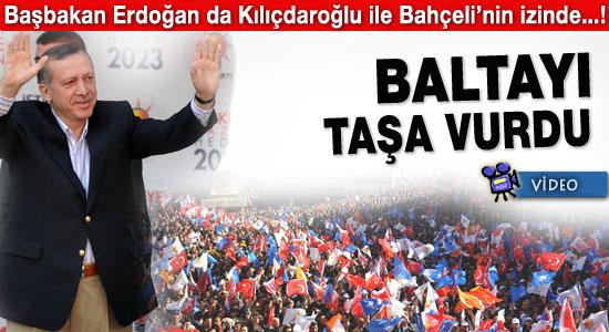 Erdoğan Zongulak'ta baltayı taşa vurdu