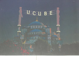 Eskişehirin CHPli Tepebaşı Belediyesinin açtığı resim sergisinde camiye ve tesettürlü kadınlara hakaret yağdı