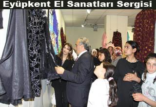 Eyüpkent El Sanatları Sergisi Açıldı