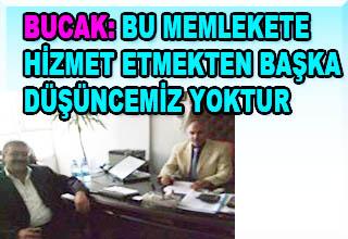 AHMET ERSİN BUCAK'TAN BAKKALLARA ZİYARET