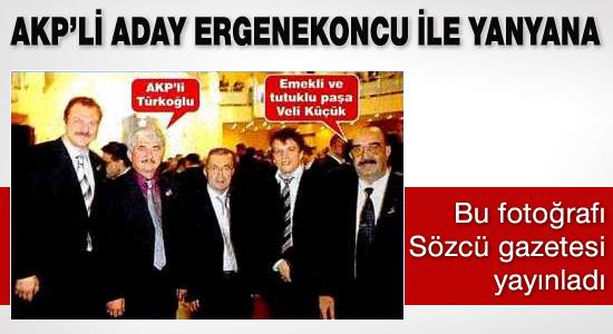 AK Parti adayı Ergenekoncu ile yanyana...!