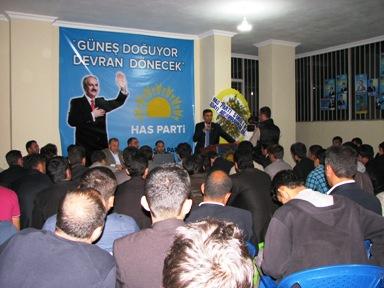 MHP ve AKP'den HAS Partiye katılım