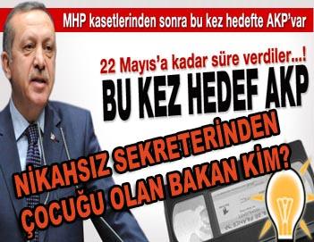 Nikahsız Sekreterinden Çocuğu Olan AKP'li Bakan Kim?