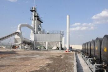 İşte Ş.Urfa'yı asfaltlayan tesis