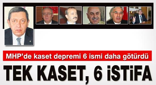 MHP'de skandal kaset 6 istifa getirdi