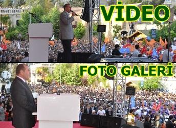 erdoğan Topçu meydanında Urfalılara seslendi