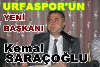 Urfaspor'un başkanlığına Kemal Saraçoğlu seçildi