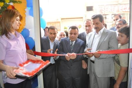Bakan Çelik Baran's Tıp Merkezini Açtı