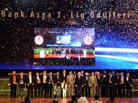 Bank Asya 1. Lig Ödülleri sahiplerini buldu