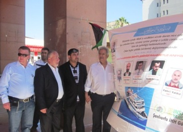 Filistin Büyükelçi İHH Standında