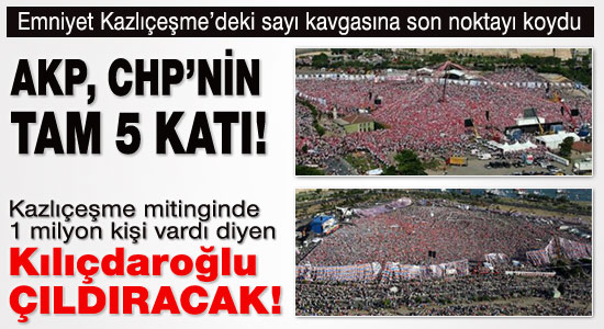 Bu rakamlar Kılıçdaroğlu'nu çıldırtacak