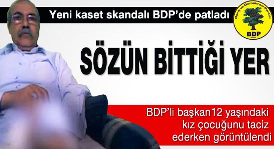 Yeni kaset skandalı BDP'de patladı