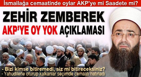 İsmailağa cemaati 'AKP'ye oy yok' dedi
