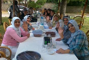 Karaköprülü kadınlar zaferi kutladı