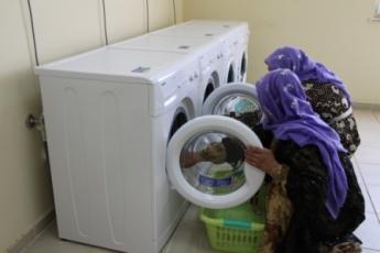 Kadınların çamaşır yükü kalktı
