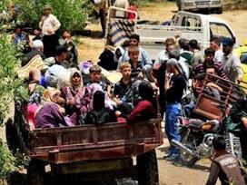 20 bin Suriyeli sınırımıza dayandı