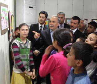 İlköğretim Okulu Öğrencilerine Ücretsiz Resim Kursu
