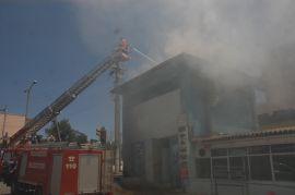 Viranşehir'de trafo yangını korkuttu
