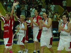 Türkiye Bayan Basketbol Milli takımı finalde