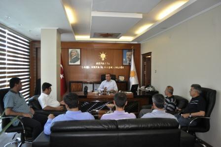 Eğitim Bir-Sen'den AK Parti'ye Ziyaret