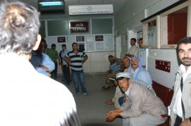 Viranşehir'de işçiler yemekten zehirlendi