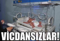 Bozova'da bebeği sokağa terk ettiler