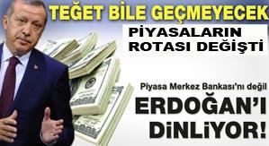 Erdoğan'ın sözü piyasaları rahatlattı