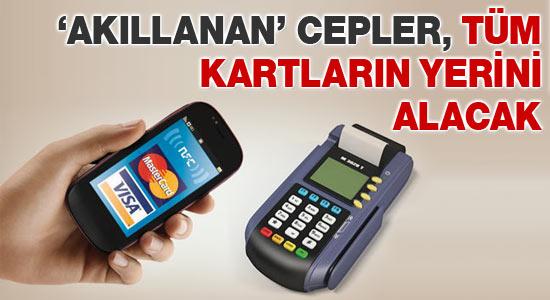 Kredi kartları Cep'lere giriyor