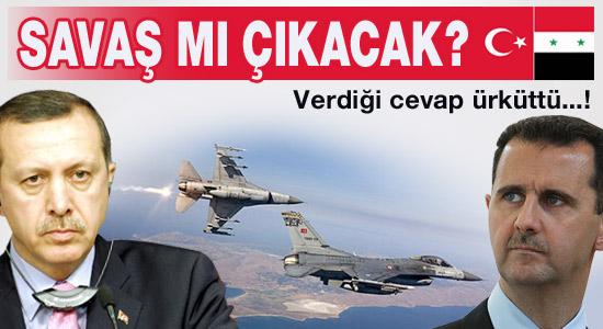 Türkiye ile Suriye arasında savaş çıkar mı?
