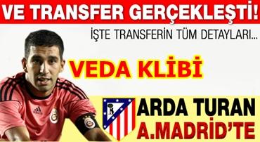 Arda Turan, 5 yıllığına A. Madrid'te