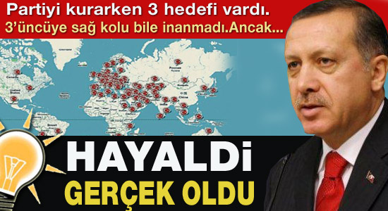 Erdoğan'ın 10 yıl önce kuruculara söylediği 3 şey