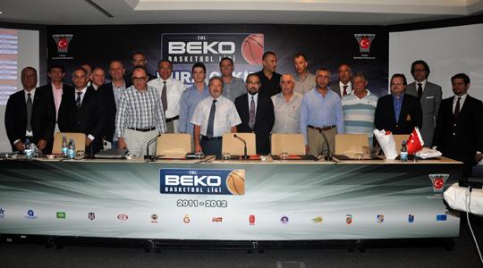 Beko Basketbol fikstürü belli oldu