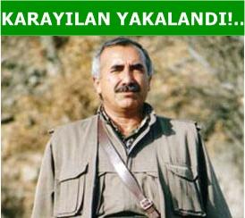 Murat Karayılan yakalandı