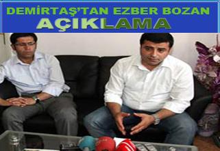 Demirtaş: Bana göre PKK iyi yapmıyor