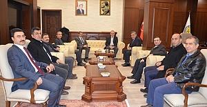 Müsteşar Yardımcılarından Rektör Taşaltın'a Ziyaret