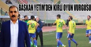 Şanlıurfaspor Başkanı Yetim'den galibiyet açıklamasında kirli oyun vurgusu