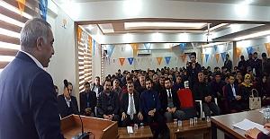 Serhat Becel Hilvan Gençlik Kolları Başkanlığına seçildi