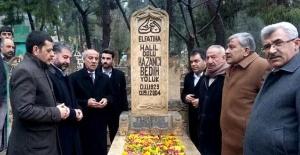 Ünlü Gazelhan Kazancı Bedih Mezarı Başında Anıldı